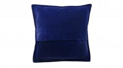Kussen fluweel diep blauw 50x50 cm