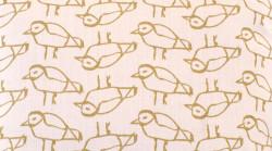 Aanbieding: Kussen Vogel Lime 45 x 45 cm
